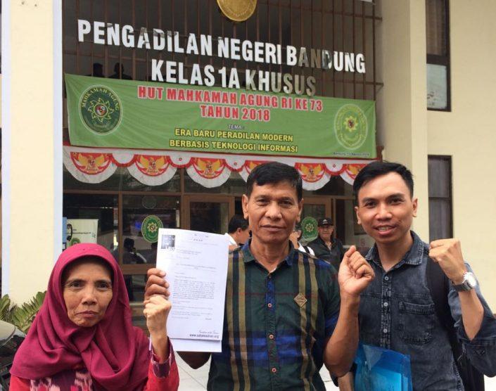 Daftar Gugatan terhadap Pendopo 45 - Yayasan Satu Keadilan