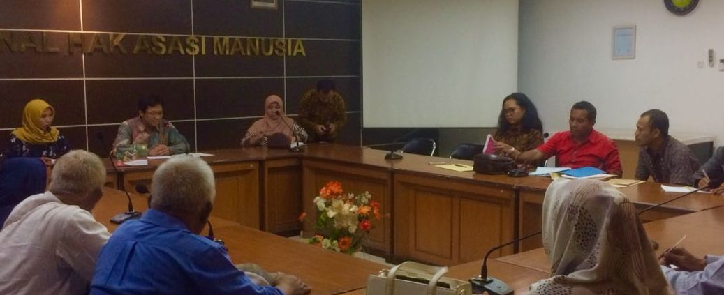 Pengaduan Warga Teplan di Komnas HAM - LBH KBR - Yayasan Satu Keadilan